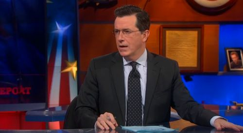 Speechless Colbert Face