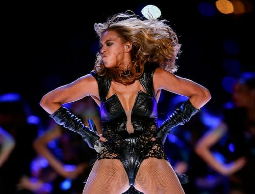 Beyonce Knowles Superbowl