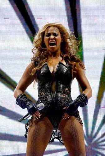 Beyonce Superbowl Yell