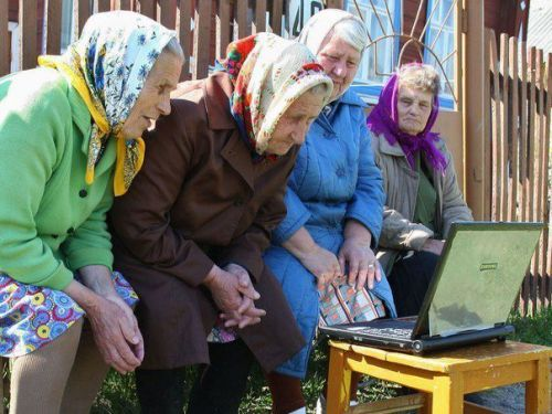 Babushkas On Facebook