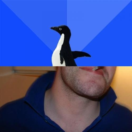 Good Guy Socially Awkward Penguin